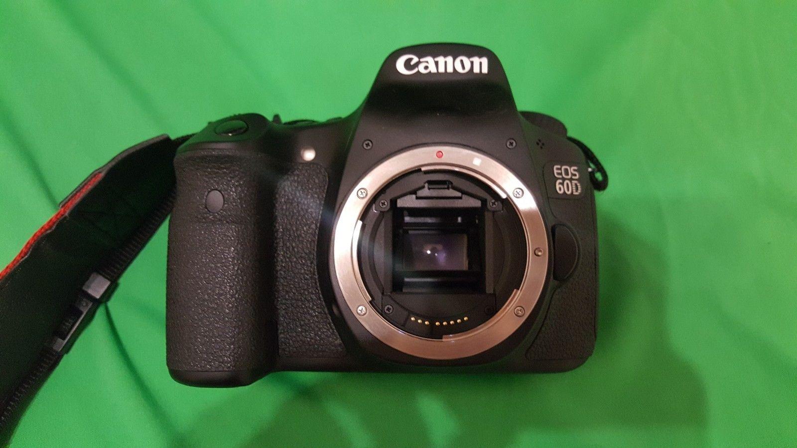 Canon EOS E OS 60D 60 D Gehäuse Body 18,0 MP  Top Zustand