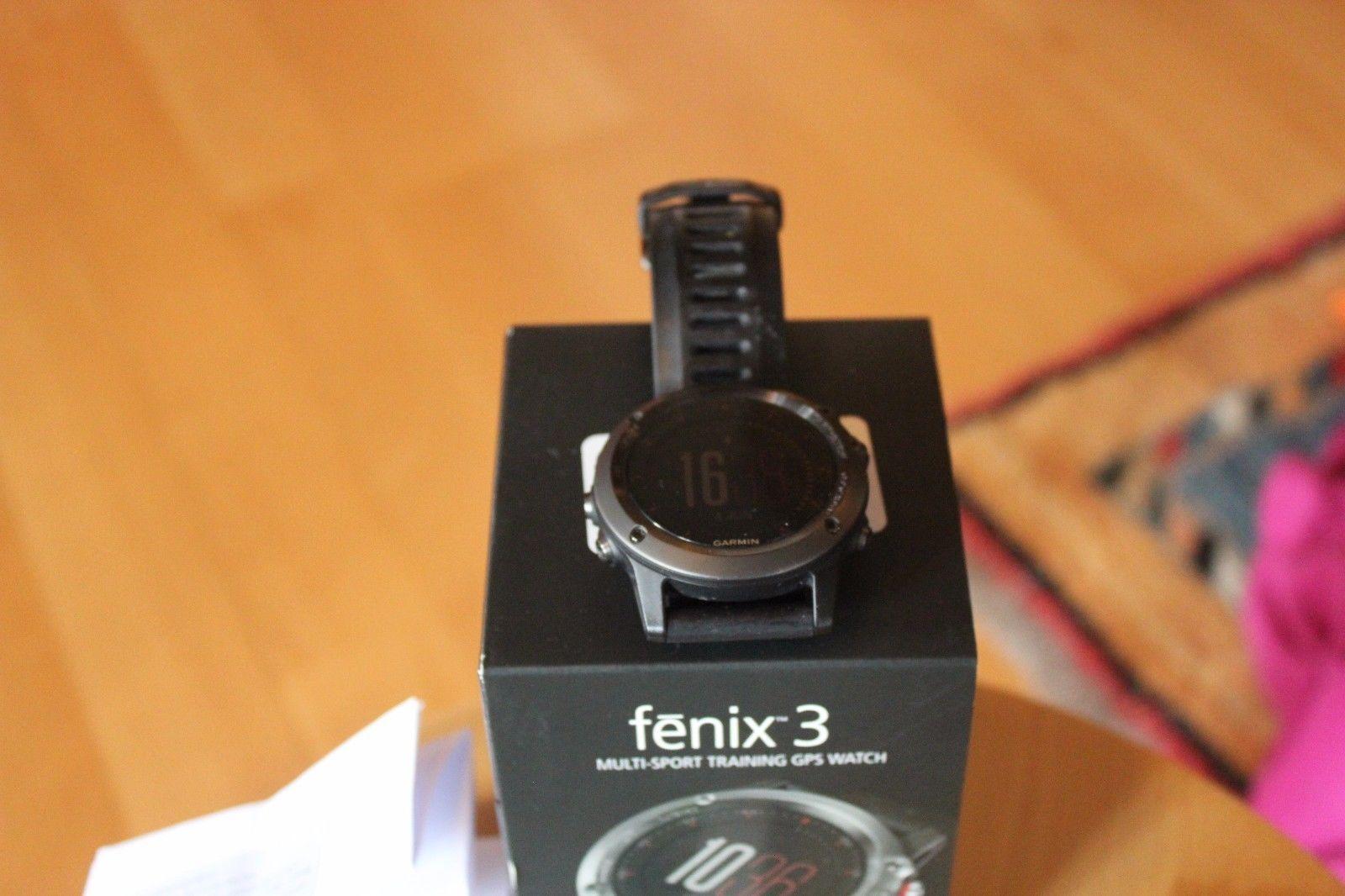 garmin fenix 3 gps-multisportuhr in sehr gutem Zustand