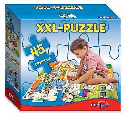 Noris Spiele Riesenpuzzle Feuerwehr Kinder Puzzle 45 XXL Kinderspiel NEU