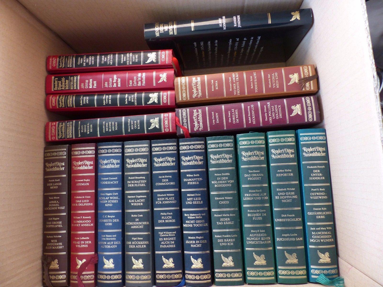 Readers Digest Auswahlbücher - 25 Bände - auch Versand möglich
