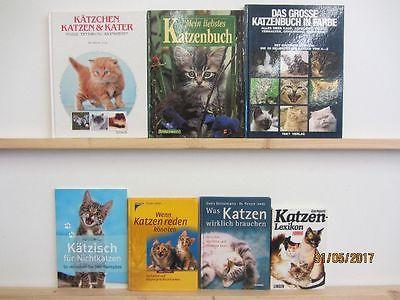 66 Bücher Bildbände Katze Katzenpflege Katzenrassen Katzenerziehung