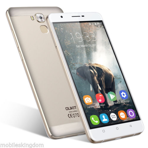6.0 Zoll OUKITEL U16 Max 4G Handy Android7.0 MT6753 OctaCore 3+32GB Smartphone