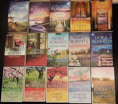 Nora Roberts - Bücherpaket - 33 Stück