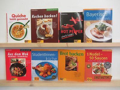 143 Bücher Softcover GU Ratgeber Essen und Trinken Gräfe+ Unzer