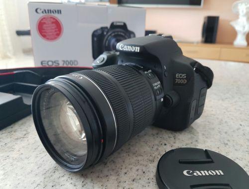 Canon EOS 700D 18,0MP Spiegelreflexkamera EFS 18-135mm Kit