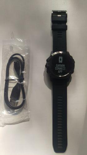 Garmin Fenix 5X Saphir Edition -schwarz- HR am Handgelenk - Multisport GPS- Neu
