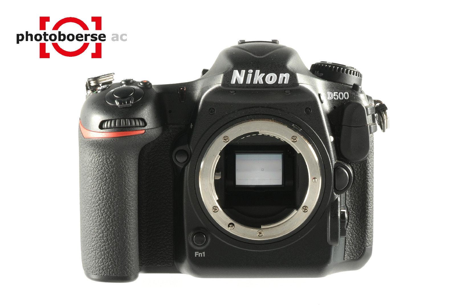 NIKON D500 mit 1.920 Auslösungen / actuations