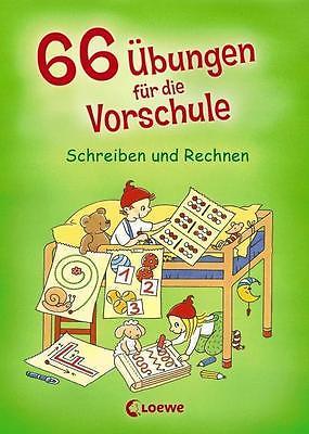 66 Übungen für die Vorschule - Schreiben und Rechnen