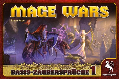 Pegasus 51861G - Mage Wars: Zauberbuch 1