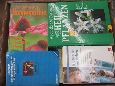 60 Bücher Gesundheit Medizin Selbstheilung Naturmedizin Naturheilkunde Paket 1