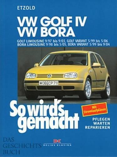 VW GOLF 4 , Reparaturanleitung So wirds gemacht/Etzold Reparatur-Buch/Handbuch