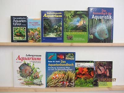 60 Bücher Bildbände Aquaristik Aquarium Zierfische Wasserpflanzen