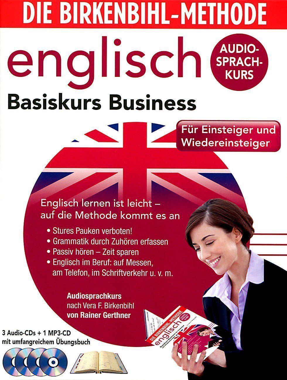 Audio-Sprachkurs Birkenbihl Basiskurs Business Englisch Kurs 4 CD's + Übungsbuch