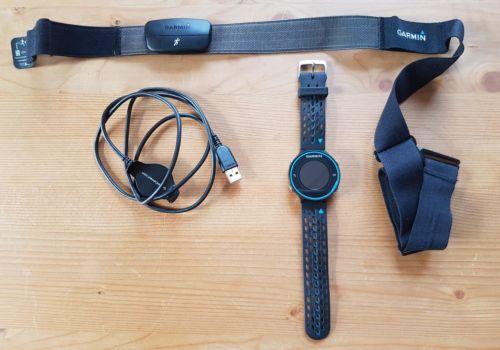 Garmin Forerunner 620 GPS inkl.  Herzfrequenz-Brustgurt und USB Hub