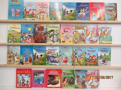 30 Bücher Kinderbücher Walt Disney Kinderbuchklassiker Bambi Aladdin u.a.