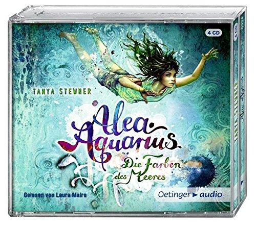 Alea Aquarius. Die Farben des Meeres (4 CD): Band 2, Autorisierte Lesefassung, 300 min.