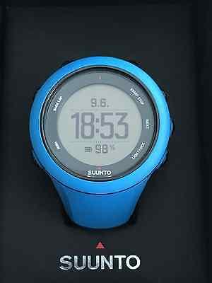 Suunto Ambit3 Sport blue mit Suunto Smart Sensor zur Herzfrequenzmessung