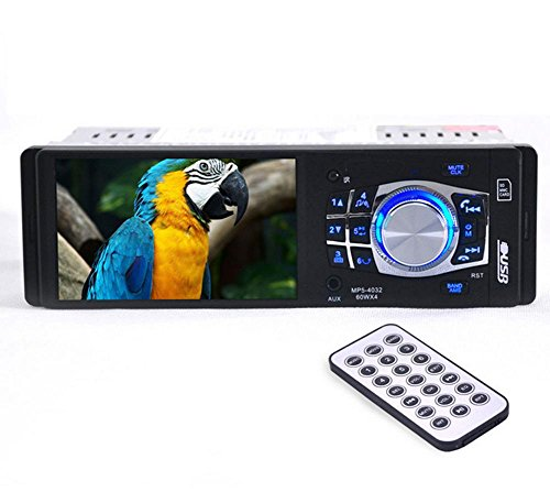 KDGWD Autoradio4.1-Zoll-HD-Bildschirm und HD Stereo Bluetooth Audio Receiver Receiver Receiver USB und AUX Auto MP5 SD Card Slot 12V / 24V-4032BT