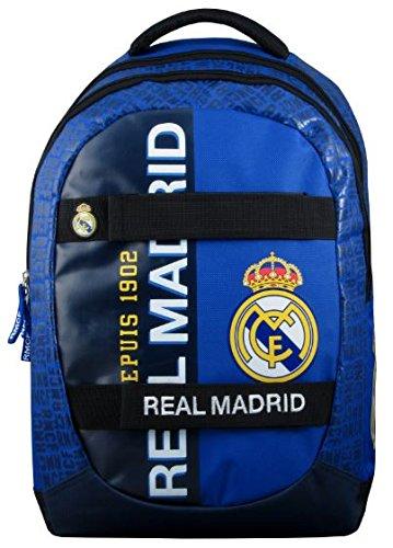 Real Madrid 173rma204ska Rucksack Unisex Kinder, Blau