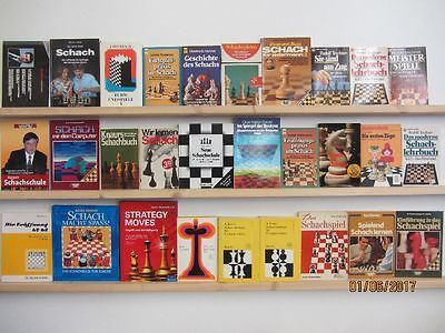 29 Bücher Schach Schach spielen Schachstrategien Schachschule Schachlehrbuch