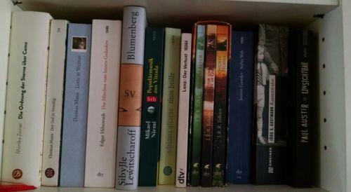 Über 100 Bücher, Bücherpaket, anspruchsvolle Literatur, Reise, Romane, Klassiker