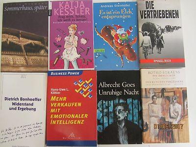 137 Bücher Taschenbücher verschiedene Verlage