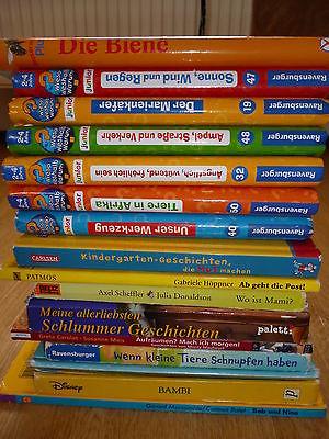16 Bücher / Kinderbücher / Bücherpaket für Kinder / Kleinkindbücher
