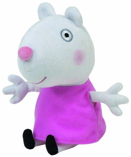 TY 46139 - Peppa Baby - Beanie Babies Luzie Locke Schaf - Plüsch, 15 cm