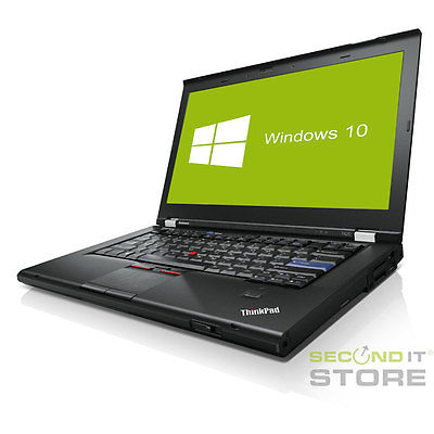 Lenovo ThinkPad T420 Notebook Intel Core i5 2x 2,5GHz 10GB RAM 320 GB HDD Win10