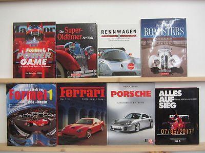22 Bildbände Auto Automobile Automarken Formel 1 Roadster Oldtimer Rennwagen