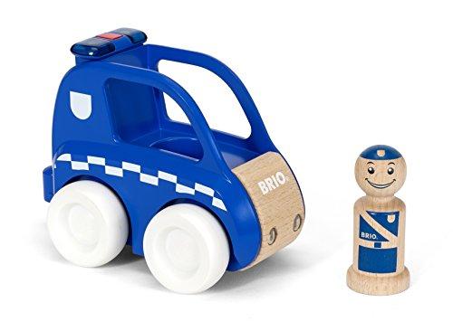 BRIO 30377 - Polizei-Flitzer mit Licht und Sound, bunt