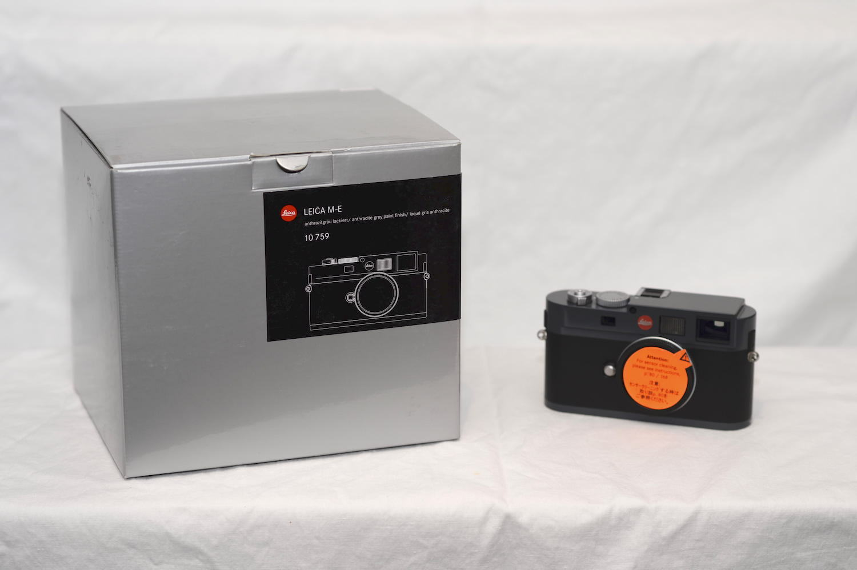 Leica M M-E 18,0 MP Digitalkamera - Schwarz