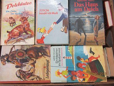 61 Bücher ältere Kinderbücher ältere Jugendbücher ältere Jugendromane Paket 2