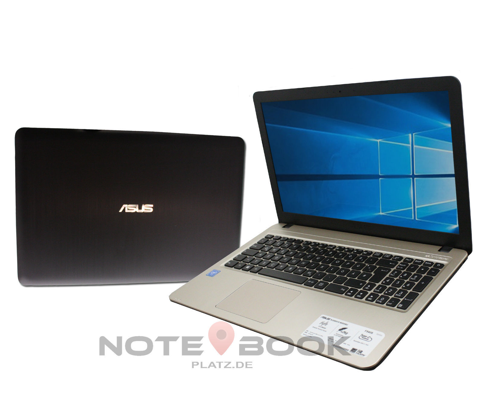 ASUS IN GOLD - LAPTOP - 15,6