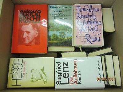 36 Bücher Romane deutsche Klassiker Böll Lenz Mann Grass Brecht u.a.