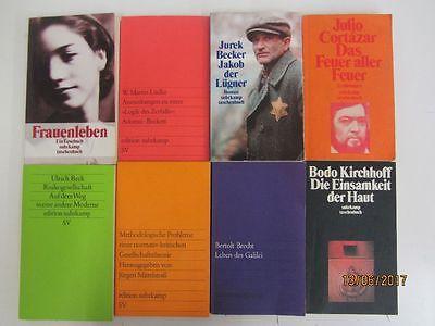 104 Bücher Taschenbücher suhrkamp Verlag
