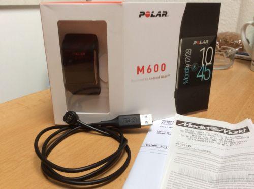 Polar M600 Fitness Smartwatch mit Android Wear, WIE NEU! mit Kaufbeleg!OVP!