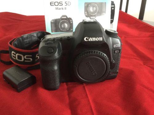 Canon EOS 5D Mark II 21.1 MP  (Nur Gehäuse)