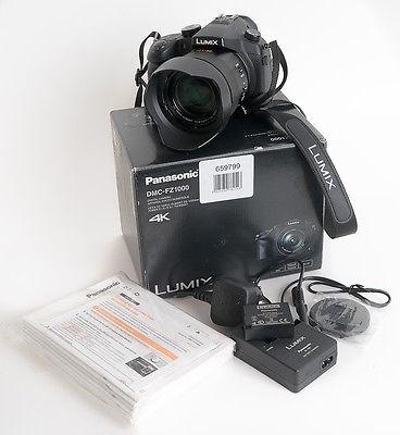 Panasonic LUMIX DMC-FZ1000 20.1MP Digitalkamera - Schwarz (Kit mit DC 25-400mm O