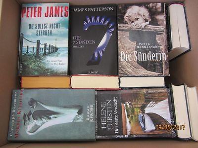 32 Bücher Romane Krimi Thriller Psychothriller  Top Titel Bestseller Paket 2