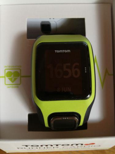 TomTom Runner Cardio GPS Laufuhr, Sportuhr
