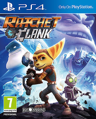 Ratchet & Clank PS4 BRAND NEW SEALED UK OFFICIAL
