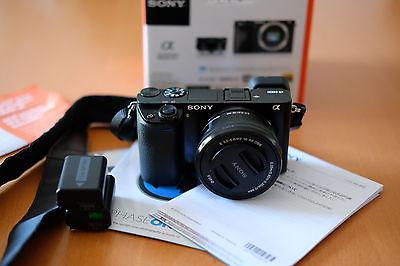 Sony Alpha ILCE-6000 A6000  mit E PZ 16-50mm mir Rechnung