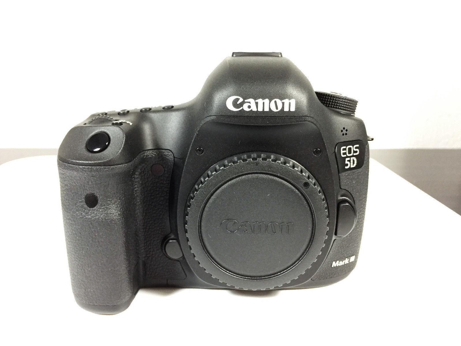 Canon EOS 5D Mark III DSLR Digitalkamera (Gehäuse/Body) - nur 6.227 Auslösungen