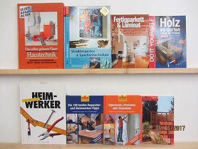 35 Bücher Bildbände Heimwerken Renovieren selber Machen Wohnideen Innenausbau