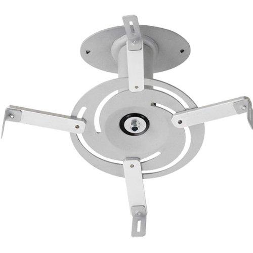 Vivanco WMS P 152 S Universelle Projektor-Deckenhalterung bis zu 15 kg silber