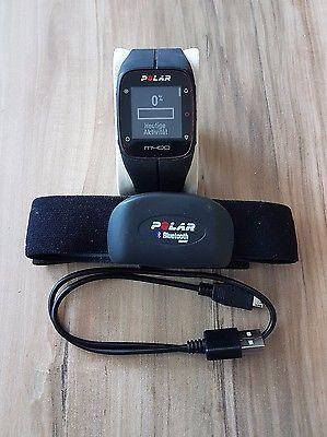 Polar M400 mit Brustgurt H7, schwarz, Trainingscomputer, Laufuhr, Pulsuhr