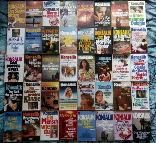 Konsalik bücherpaket 106 Taschenbücher Sammlung