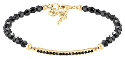 Elli Premium Armband Geo Beads Swarovski Kristalle 925 Silber vergoldet 0211332416