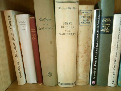 165 Bücher Literatur  Sammlung Konvolut
